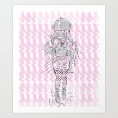 Advancement Study #1 Art Print