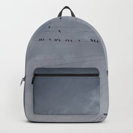 The Sky of the Man Backpack