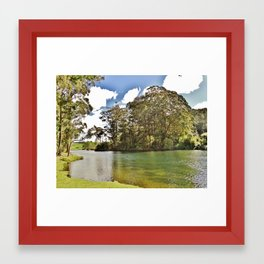 Tauranga Framed Art Print
