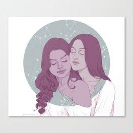 Queensguard Canvas Print