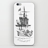 larry iPhone & iPod Skins featuring Larry tattooes by Drawpassionn