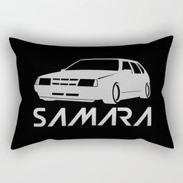 Lada Samara - silver - Rectangular Pillow