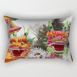 oriental dragons Rectangular Pillow