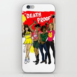 Death Proof Pin Up iPhone Skin