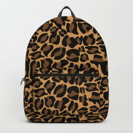 Leopard Print | Cheetah texture pattern Backpack