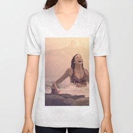 Water Goddess #5 Unisex V-Neck