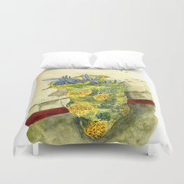 A Bag of Pineapples Duvet Cover