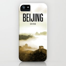 Beijing Wallpaper iPhone Case
