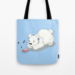Polar Beats Tote Bag