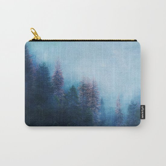 Dreamy Winter Forest Carry-All Pouch