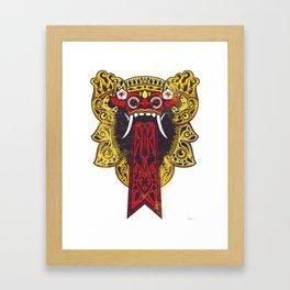 Barung Bali Framed Art Print