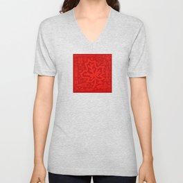 Canadiana Icons - Maple Leaf Unisex V-Neck