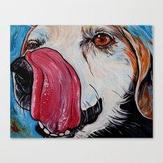 Beagle Art Canvas Print