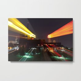 This City Moves Metal Print