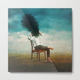 Smoke Signal Metal Print