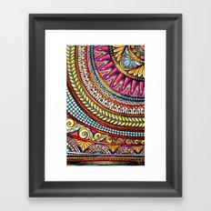 Pattern Fun Framed Art Print
