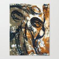 """pilot Canvas Prints featuring """"Pilot"""" by Scott Lenaway"""