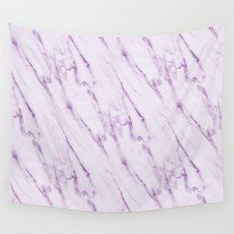 Purple Swirl Marble Wall Tapestry