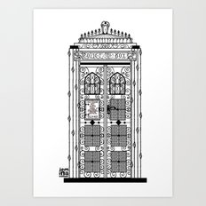 Time & Relative Dimensions In Victorian Times Art Print
