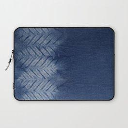 Shibori Chevron Stripe Laptop Sleeve