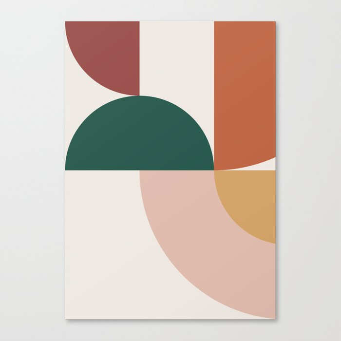 Abstract Geometric 12 Canvas Print