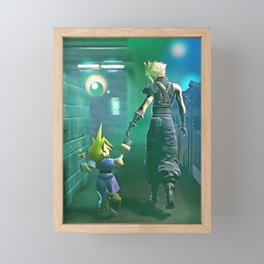 Final fantasy Framed Mini Art Print