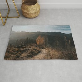 Autumn Hike - Landscape and Nature Photography Rug