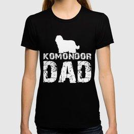 Komondor Dad Funny Gift Shirt T-shirt
