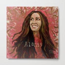 Alanis Metal Print