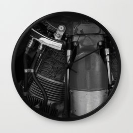 Piston Power Wall Clock