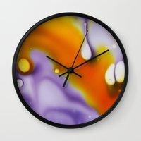 cosmic Wall Clocks featuring Cosmic by Cindi Ressler Photography