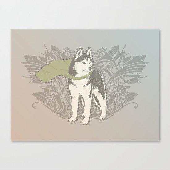 Fearless Creature: Eski Canvas Print