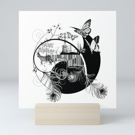 counterbalance Mini Art Print
