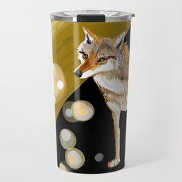 Mongolian Wolf #1 Travel Mug