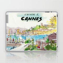 Winter In Cannes Laptop & iPad Skin
