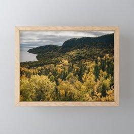 Grand Portage, Minnesota | Nature and Landscape Photography Framed Mini Art Print
