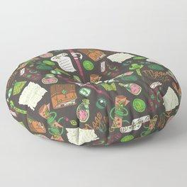 Mage Life Magic Items - Earth Tone Floor Pillow