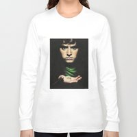 lord of the rings Long Sleeve T-shirts featuring Frodo - Lord of the Rings by Hilary Rodzik