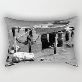 shy boat Rectangular Pillow