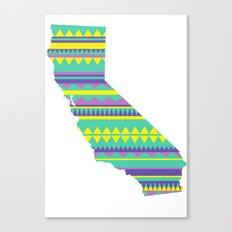 California Modern Navajo Canvas Print