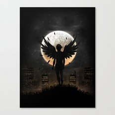 Lost in the world of humanity Canvas Print