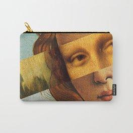 Leonardo's Mona Lisa & Botticelli's Venus Carry-All Pouch