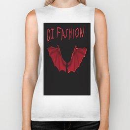 Bat wings with DI Fashion logo another DI Fashion goth line Biker Tank