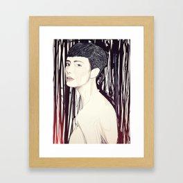 Loathe Framed Art Print