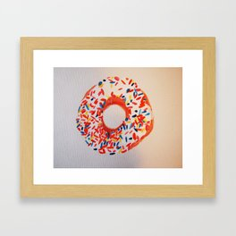 Vanilla Frosted  Framed Art Print