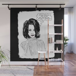 Overrated Wall Mural