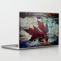poem Laptop & iPad Skins featuring Autumn Poem by A.K.H.