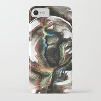 erotic iPhone & iPod Cases featuring Erotic Electronic Moon   by Pérola M. Bonfanti