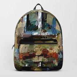 Haus mit Garten II Backpack