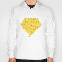 honeycomb Hoodies featuring Honeycomb by Nikky